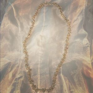 1960's long shell beaded necklace
